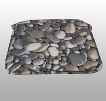 Cama piedras